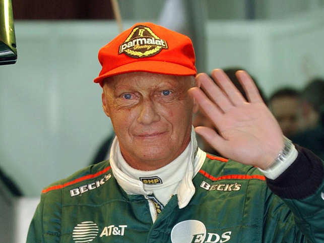 In 1977, Lauda went on to win his second Formula One world championship with Ferrari.