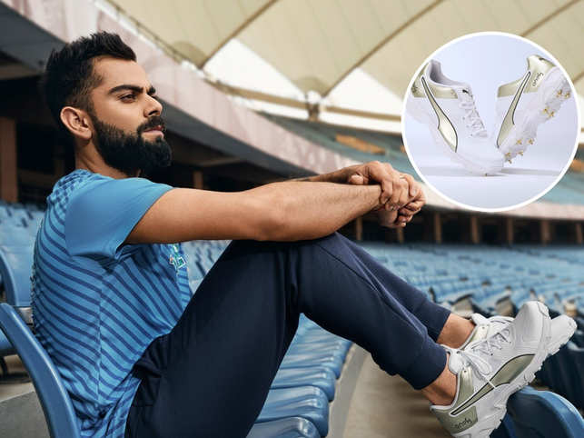 These shoe have been designed keeping in mind Virat Kohli's favorite colours