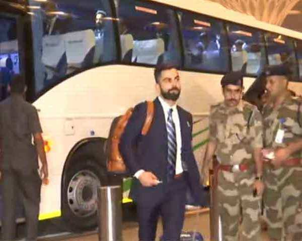 Cricket WC 2019: Indian Team leaves for England from Mumbai airport