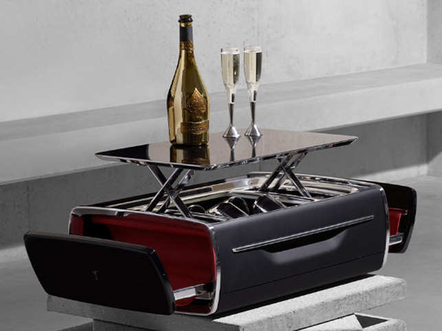 Luxe redefined: Rolls-Royce unveils a champagne cooler worth $47,000
