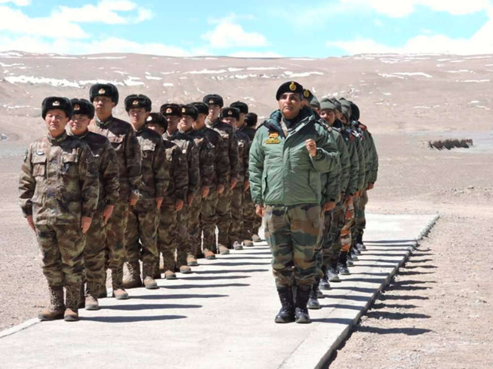Indian, Chinese troops meet in eastern Ladakh