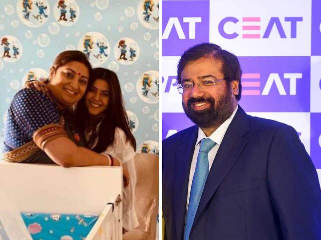 Smriti Irani: LS Polls: Ekta Kapoor & son rooting for Smriti