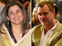 Dimple Kapadia was initially hesitant to take up the role in Christopher Nolan's film