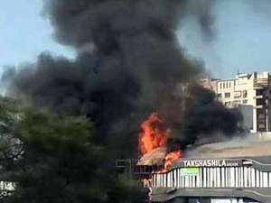 Gujarat: Fire at coaching centre in Surat, 15 children dead