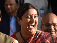 The North Remembers: Smriti Irani marks Amethi win with 'GOT' reference