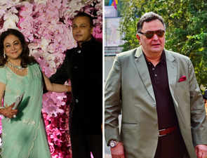 Anil, Tina Ambani visit Rishi Kapoor in New York; actor says 'lovely to see old friends'