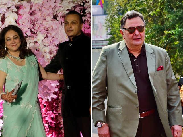 Anil Ambani: Anil, Tina Ambani Visit Rishi Kapoor In New