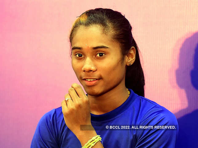Results are out: Hima Das juggles training & exams, secures first division in her 12th board exams