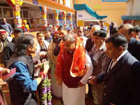 Mukesh Ambani visits Badrinath temple, donates Rs 2 cr to buy sandalwood & saffron