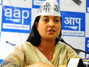 Alka Lamba says removed from AAP WhatsApp group over questions on poll  performance