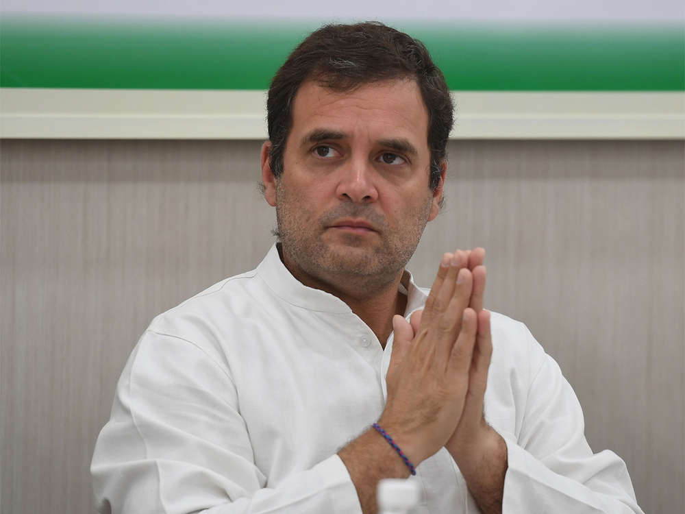 Rahul Gandhi takes back offer to resign