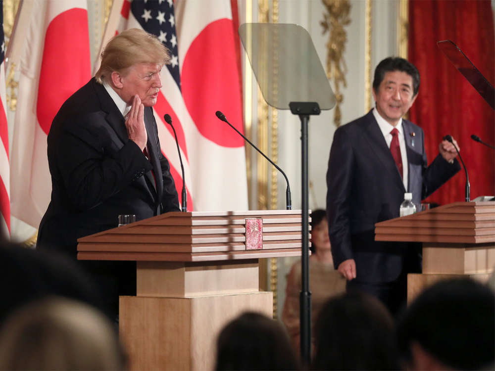 Donald Trump presses Japan over trade gap, expects 'good things' from North Korea