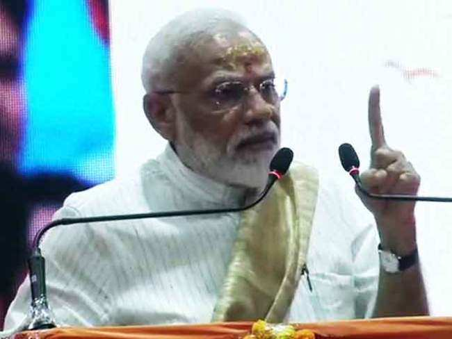 Varanasi: Illusion being created that BJP a Hindi hearthland-centric party, says PM Modi