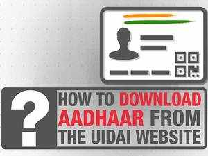 How to download Aadhaar from the UIDAI website