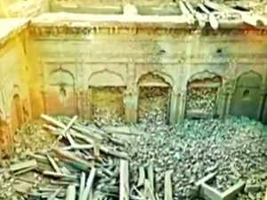 Historical 'Guru Nanak Palace' partially demolished by locals in Pakistan