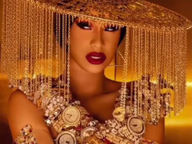 Cardi B S 10 Month Old Daughter Kulture Owns Diamonds Worth 80k