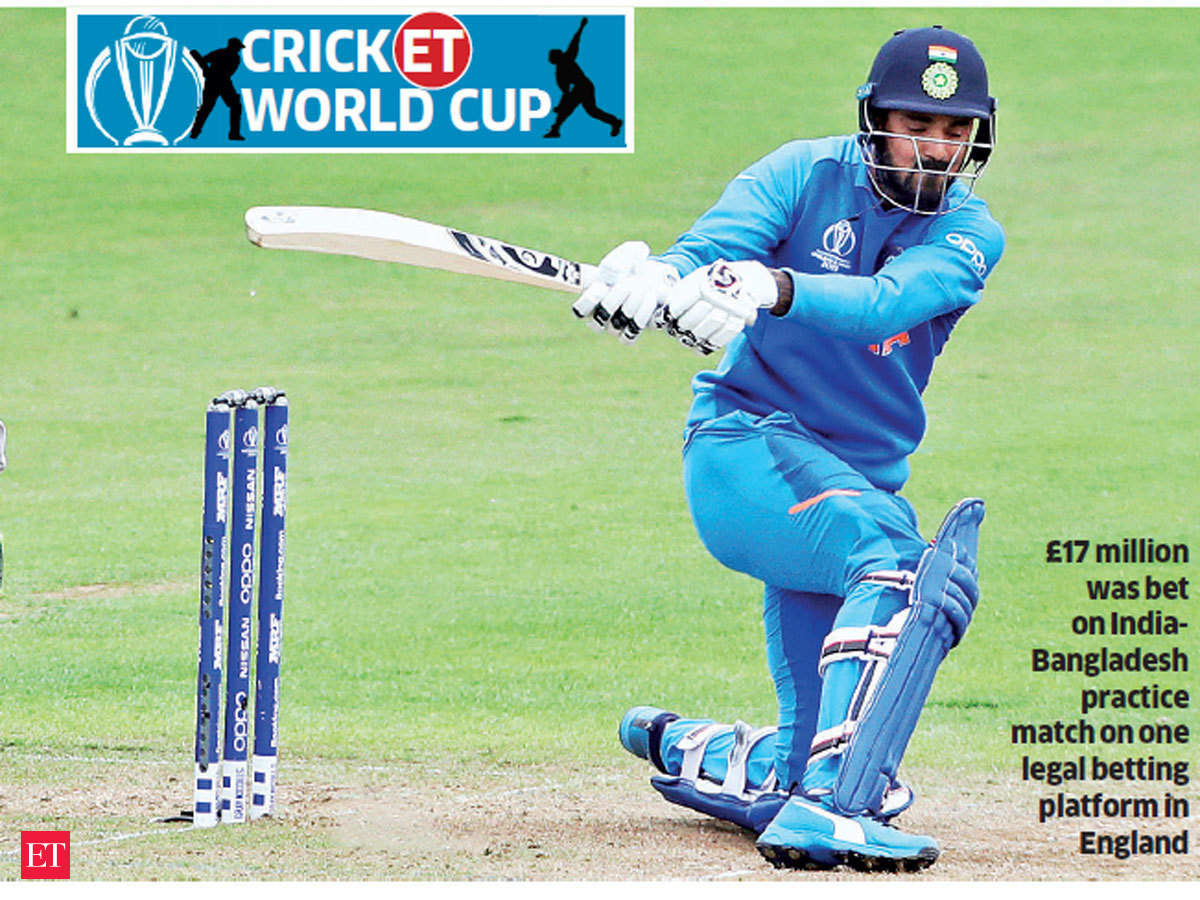 Cricket World Cup: Betting market is on fire for Cricket