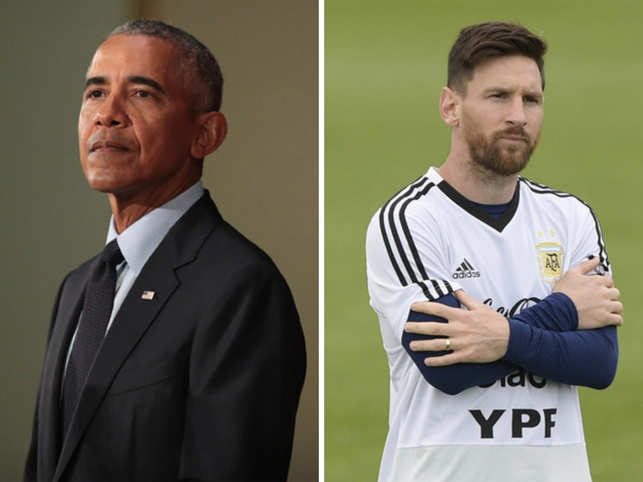 0519fd58a12 Obama offers World Cup-winning advice to Messi: Don't be alone, play like a  team