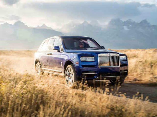 Rolls Royce unveils Cullinan, its first SUV, in India at Rs 6.95 cr