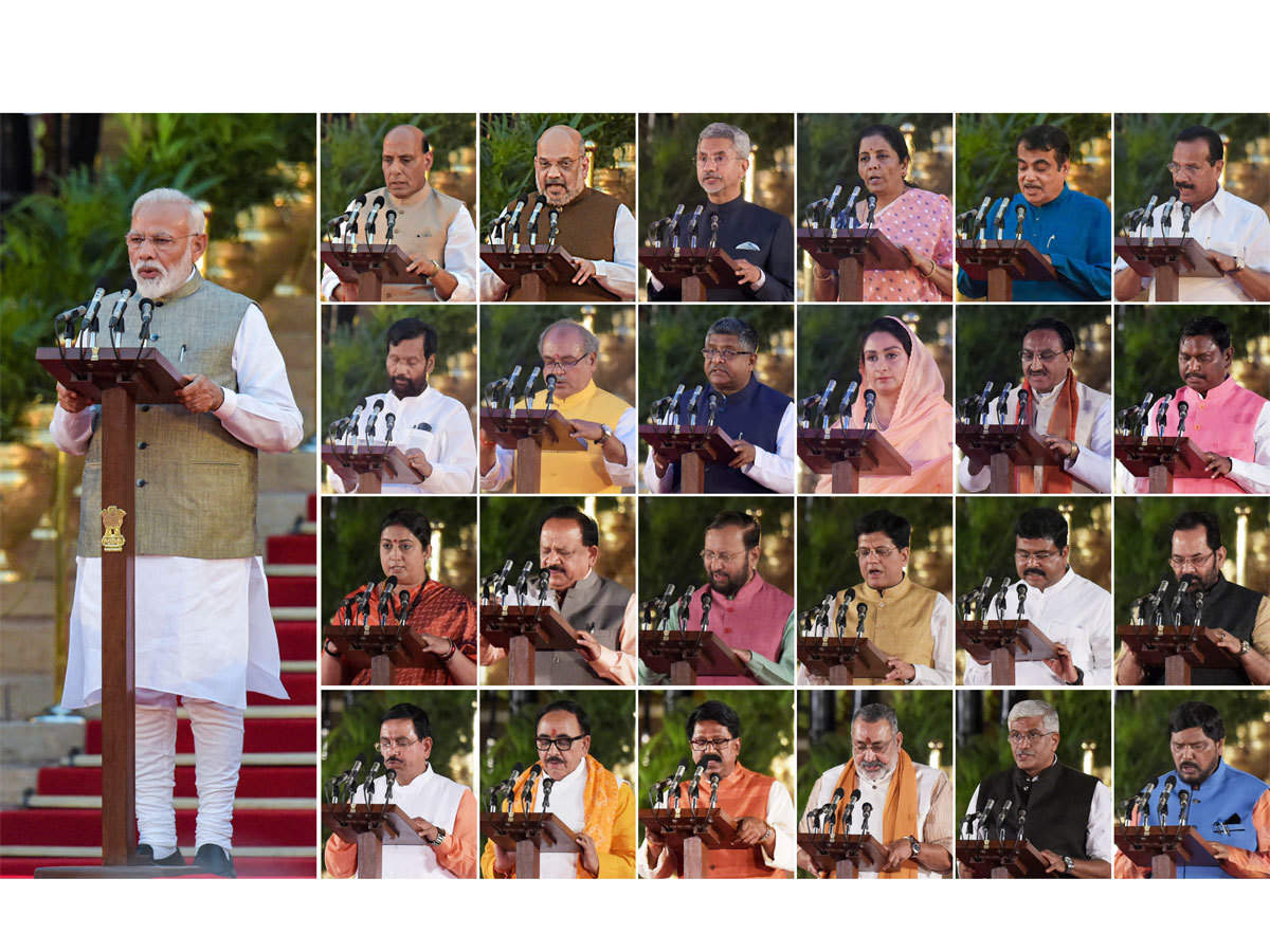 New Cabinet Ministers: Complete list of Cabinet ministers, ministers