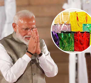 PM Modi goes green for swearing-in ceremony; 7K handmade paperbags made from waste plastic distributed