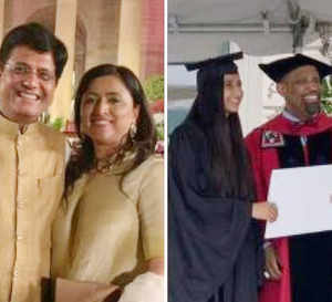 All in a day's celebration: Piyush Goyal retains Railways, daughter graduates from Harvard