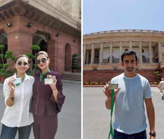 Mimi Chakraborty slams trolls for being gender-biased and ignoring Gambhir's Parliament photo