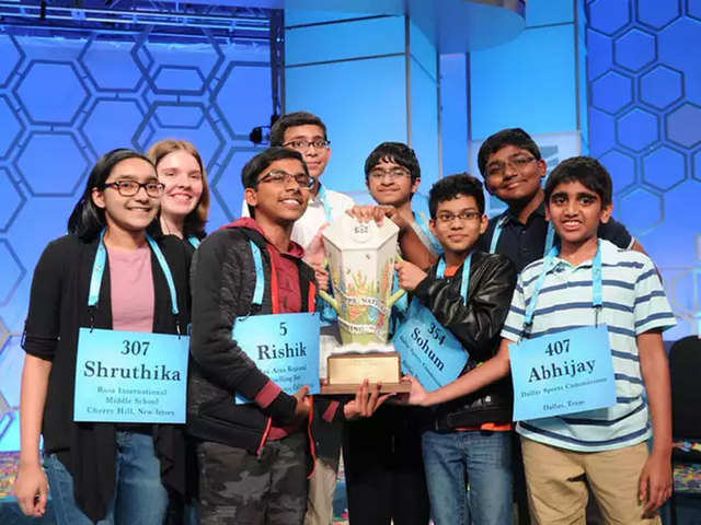 Bee spells victory for Indian-Americans