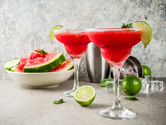 Whip it up! This summer, enjoy picnics with a glass of refreshing tequila-watermelon cooler