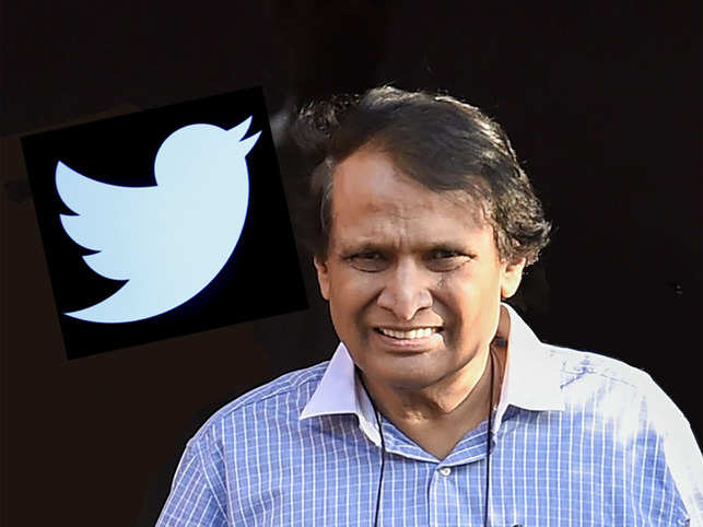 Suresh Prabhu, and other Twitter users complain of drop in followers