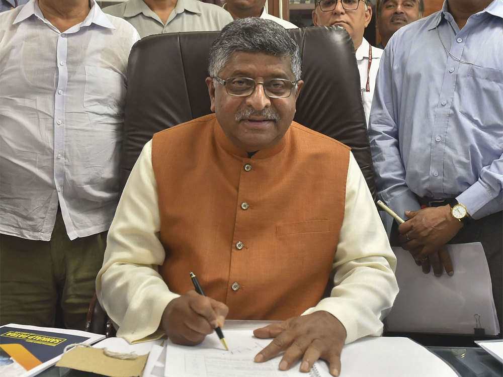 Law ministry not a post office, but a stakeholder in judicial appointments: Ravi Shankar Prasad
