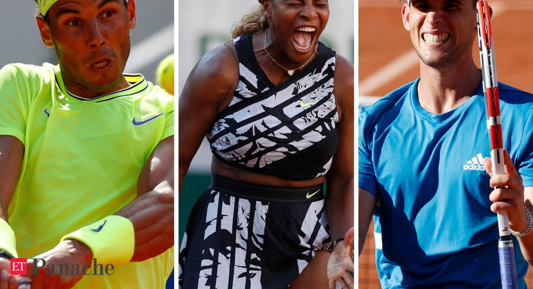 All That Is Controversial At French Open 2019 Nadal Williams Thiem And More Hello Controversy The Economic Times