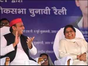 Mayawati blames Akhilesh for UP poll drubbing, may part ways with SP