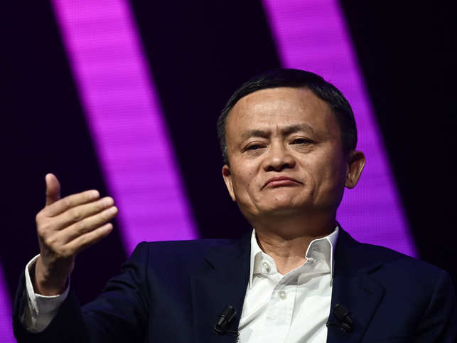 Jack Ma wants people to use their phones, but not just for games or Twitter.