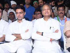 Sachin Pilot should own up my son's defeat: Ashok Gehlot