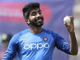 ​Jasprit ​Bumrah has a pet phrase when he wants to fire up his World Cup teammates​.