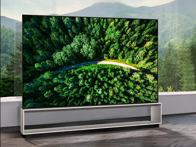 8K OLED TV is powered by LG's second-gen Alpha 9 Gen 2 8K intelligent processor