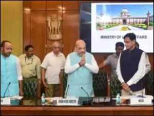 Amit Shah chairs meeting of top ministers
