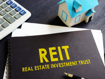 Income from office property through REIT