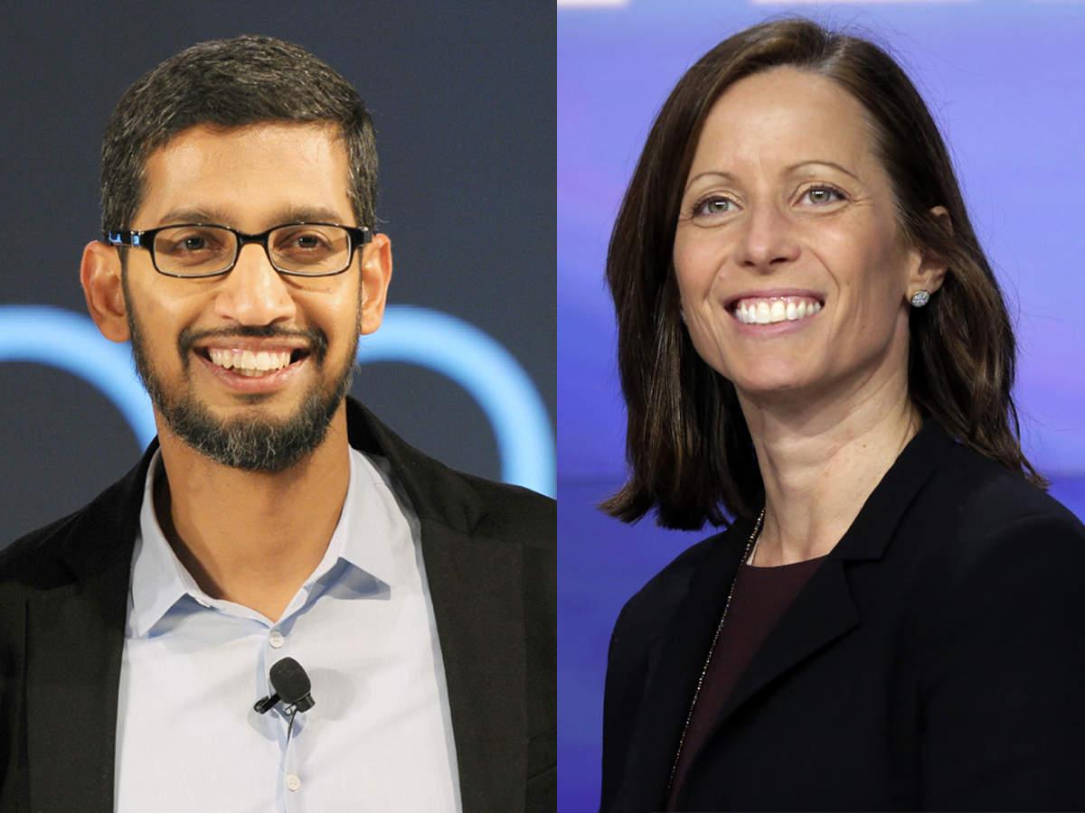 Image result for Google's Sunder Pichai & Nasdaq's Friedman to receive 2019 Global Leadership Award