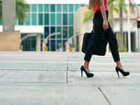 The stiletto issue remains unhealed: Can arch-harming footwear be crucial work equipment?