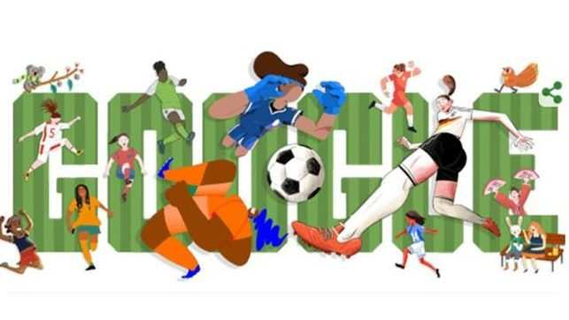 Womens World Cup 2019 Google Doodle Marks Start Of 2019