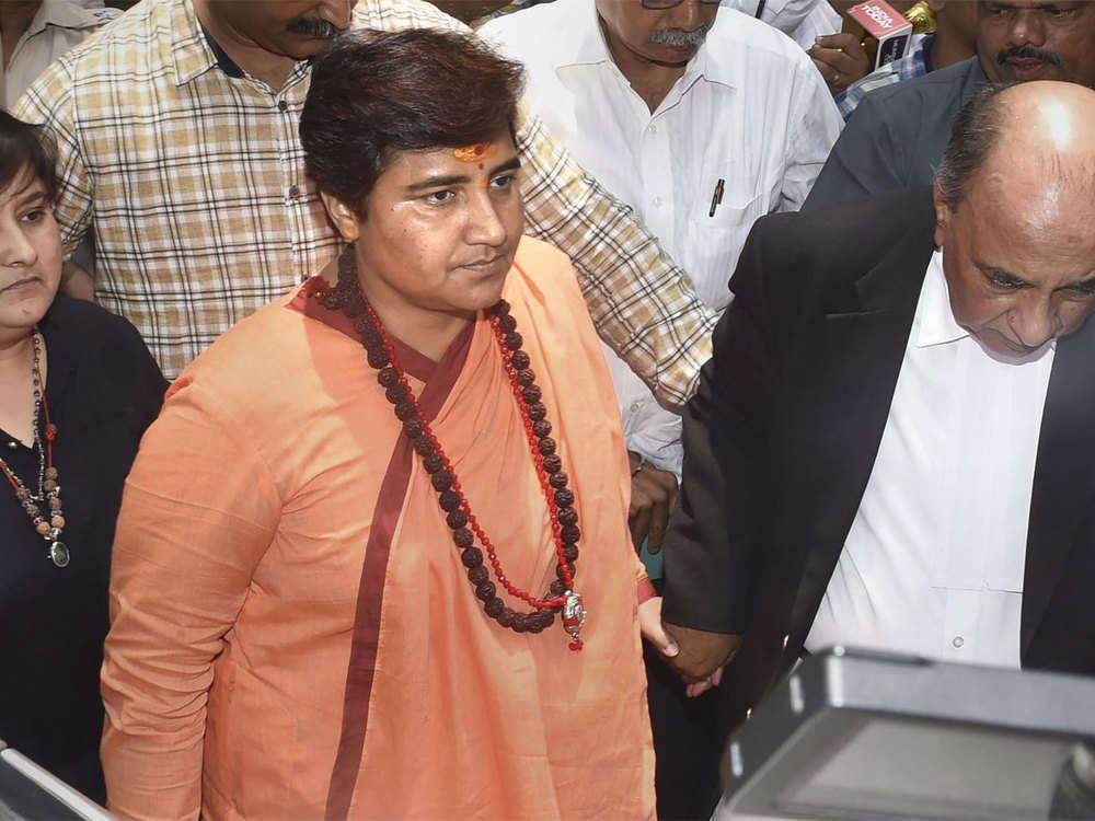 Pragya Singh Thakur appears in NIA court, says didn't know about Malegaon blast