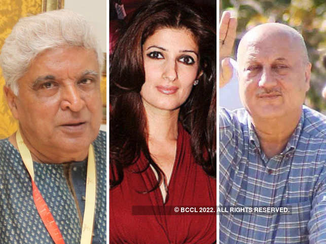 Javed Akhtar (L), Twinkle Khanna (C), Anupam Kher, and other want the officials to take strict action against the criminals who conducted this heinous crime.