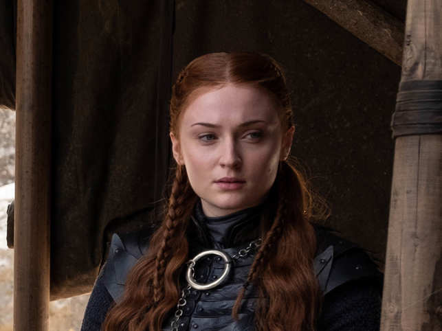 Sophie Turner played Sansa Stark in the insanely popular HBO series 'Game of Thrones'.
