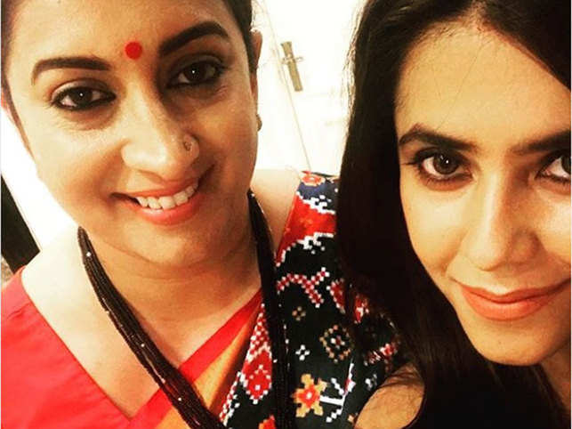 Smriti Irani pens special note for bestie Ekta Kapoor, says the director helped her sail through many turbulent phases