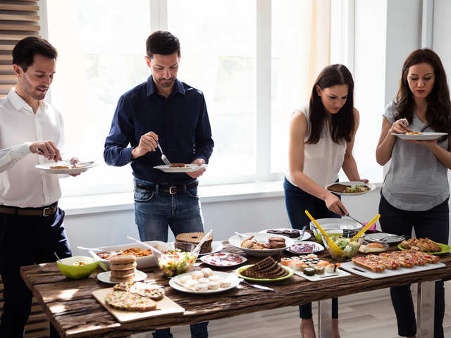 Do you stand and eat in office? It may increase physical stress, mute taste buds