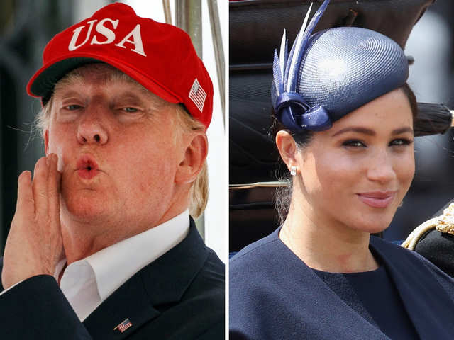 Dr D suggests Meghan deal with Trump the 'Suits' way