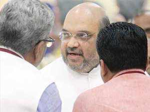 Amit Shah calls for crucial meet to discuss new party president