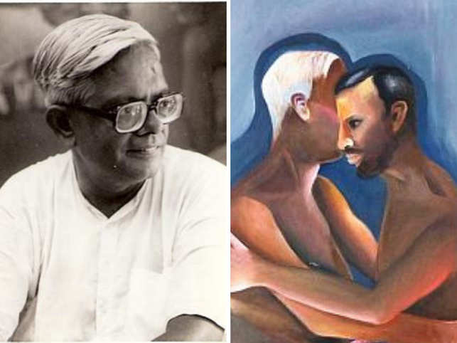 Khakhar was India's pioneering openly gay artist.